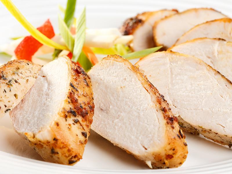 Roasted Turkey Breast with Fresh Herbs